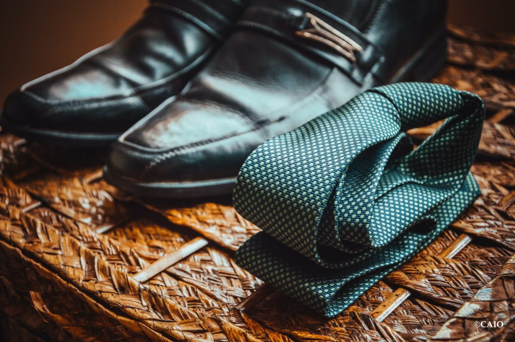 chaussures cravate mariage
